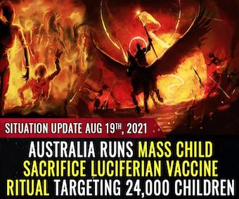 Australia runs mass child sacrifice Luciferian vaccine ritual targeting 24,000 children (WARNING- GRAPHIC).png